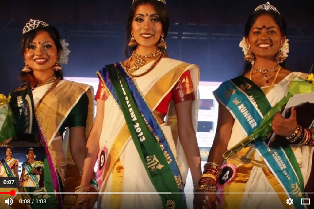 Miss Malayalee North America 2015 Promo Video
